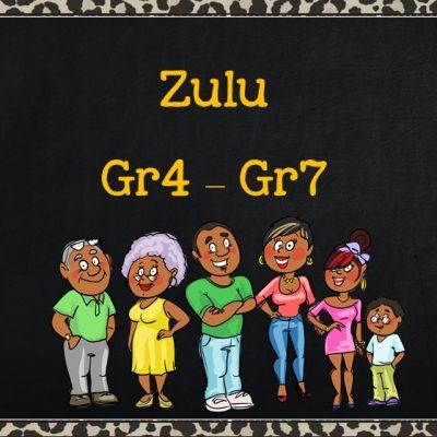 Zulu Grade 4 to Grade 7